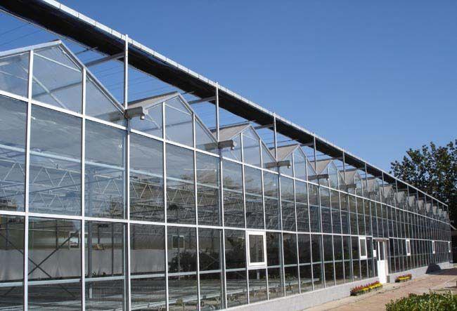 中空玻璃连栋温室